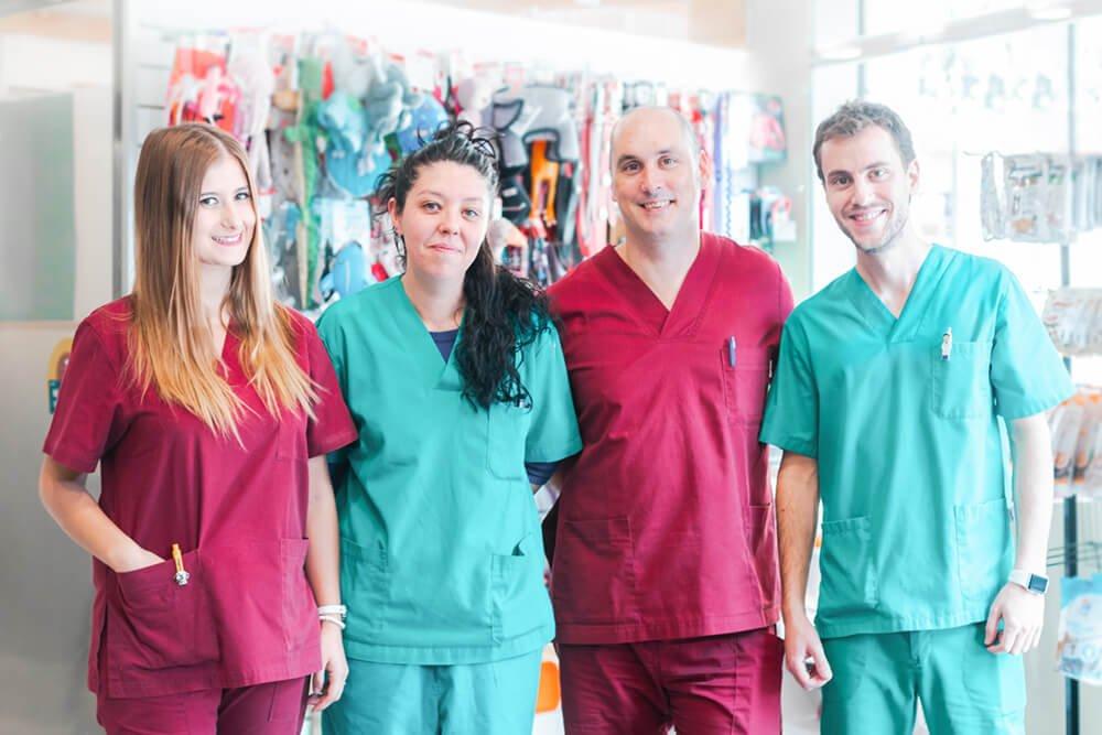 Equip0 Veteros clínica veterinaria de Barcelona